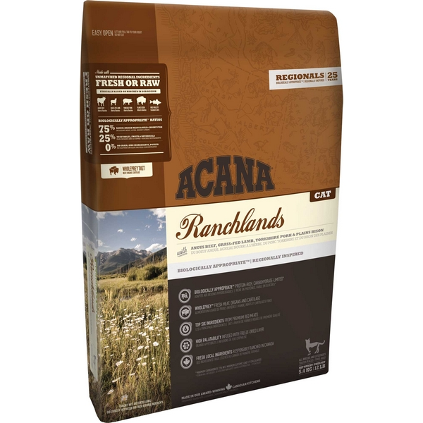 Kattemad Acana Ranchland Cat 5,4 kg